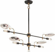 Troy F4694 Dinner Date Hand Worked Wrought Iron Kitchen Island Light