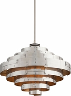 Troy F4724 Mitchel Field Hand Worked Iron And Aluminum LED 26 Lighting Pendant