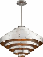 Troy F4725 Mitchel Field Hand Worked Iron And Aluminum LED 32  Pendant Lamp