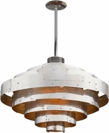 Troy F4726 Mitchel Field Hand Worked Iron And Aluminum LED 40  Hanging Lamp