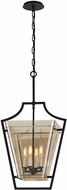 Troy F5594 Domain Hand-Worked Iron With Polished Chrome Detail Small Foyer Lighting