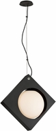Troy F5602 Conundrum Contemporary Textured Black LED Pendant Lighting