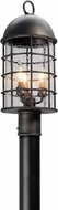 Troy PL4435 Charlemagne Hand Worked Iron LED Exterior Lamp Post Light
