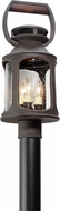 Troy PL4515 Old Trail Traditional Solid Aluminum LED Exterior Post Lighting Fixture