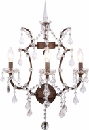 Urban Classic 1138W17RI-RC Elena Rustic Intent Wall Lighting