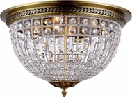 Urban Classic 1205F24FG-RC Olivia French Gold Flush Mount Lighting Fixture