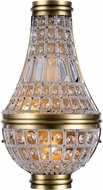 Urban Classic 1209W9FG-RC Stella French Gold Wall Light Sconce