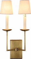 Urban Classic 1436W10BB Astana Burnished Brass Wall Lighting Fixture