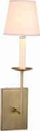 Urban Classic 1436W4BB Astana Burnished Brass Wall Sconce