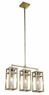 Urban Classic 1443D26BB Bianca Contemporary Burnished Brass Kitchen Island Light