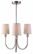 Urban Classic 1444D20PN Toscana Polished Nickel Mini Chandelier Light