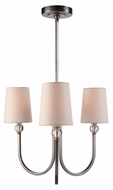 Urban Classic 1444D20VN Toscana Vintage Nickel Mini Ceiling Chandelier