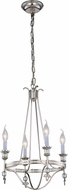 Urban Classic 1487D17PN Phoebe Polished Nickel Mini Hanging Chandelier