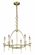 Urban Classic 1499D24BB Celtic  Burnished Brass Mini Hanging Chandelier