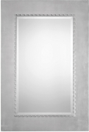 Uttermost 09229 Marlon Lightly Antiqued Silver Leaf Mirror
