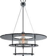 Uttermost 21266 Gyrus Contemporary Chrome Pendant Light