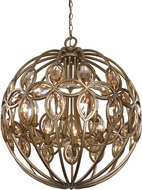 Uttermost 21269 Ambre Burnished Gold Lighting Pendant
