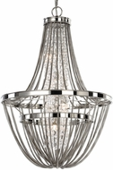 Uttermost 21302 Couler Polished Nickel Xenon Foyer Light Fixture