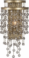 Uttermost 22507 Valka Silver Swedish Iron Wall Lamp