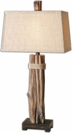 Uttermost 26301 Yorkshire Rustic 18  Wide Lighting Table Lamp