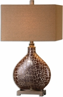 Uttermost 26504-1 Somali Dark Bronze Table Top Lamp