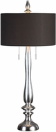 Uttermost 27280 Belmont Metallic Silver Leaf Buffet Table Lighting