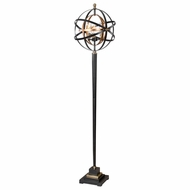 Uttermost 28087-1 Rondure Modern Dark Oil Rubbed Bronze Lighting Floor Lamp