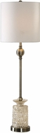 Uttermost 29367-1 Flaviana Antique Brass Buffet Lamp