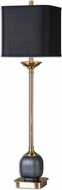 Uttermost 29983-1 Thurston Brushed Brass Buffet Table Lamp
