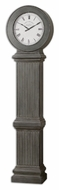 Uttermost 6086 Chouteau 83 Inch Tall Antiqued Dusty Gray Wall Clock