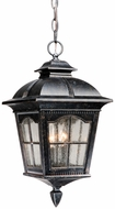 Vaxcel AD-ODU090BP Arcadia Traditional Burnished Patina Finish 9  Wide Outdoor Mini Lighting Pendant