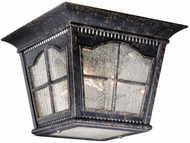 Vaxcel AD-OFU110BP Arcadia Traditional Burnished Patina Finish 8  Tall Exterior Ceiling Lighting