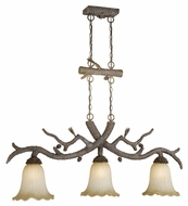 Vaxcel AS-PDD500PT Aspen Country Pine Tree Finish 50.25  Wide Island Lighting
