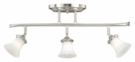 Vaxcel C0012 Sonora Satin Nickel 5  Wide Halogen Kitchen Island Light