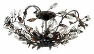 Vaxcel C0023 Jardin Architectural Bronze Finish 19  Wide Ceiling Lighting