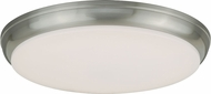 Vaxcel C0085 Apollo Satin Nickel LED Home Ceiling Lighting