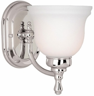 Vaxcel CL-VLU001CH Cologne Chrome Finish 8.75  Tall Wall Lighting Sconce