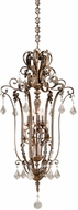Vaxcel EP-PDU280AW Emperor Traditional Aged Walnut Finish 62  Tall Pendant Light Fixture