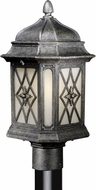 Vaxcel ES-OP51095VT Sardinia Victorian Vintage Patina Finish 8.75  Wide Exterior Lighting Post Light