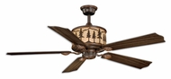 Vaxcel F0011 Yosemite Rustic Burnished Bronze Finish 18  Tall Home Ceiling Fans
