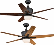 Vaxcel F0028 Argus New Bronze Home Ceiling Fan