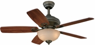 Vaxcel FN42999OR Valencia Oil Rubbed Bronze Finish 42  Wide Home Ceiling Fan
