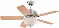 Vaxcel FN42999SN Valencia Satin Nickel Finish 20  Tall Ceiling Fan