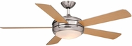Vaxcel FN52241SN Rialta Satin Nickel Finish 14.75  Tall Halogen Ceiling Fan