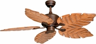 Vaxcel FN52261BBZ Palm Beach Burnished Bronze Finish 16  Tall Ceiling Fan