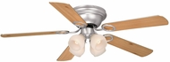 Vaxcel FN52267BN-C Zephyr Brushed Nickel Finish 52  Wide Home Ceiling Fan