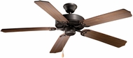 Vaxcel FN52288NB Medallion  Noble Bronze Finish 11.75  Tall Ceiling Fan