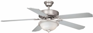 Vaxcel FN52297BN-34 Medallion Brushed Nickel Finish 52  Wide Home Ceiling Fan