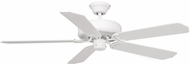 Vaxcel FN52297W-34 Medallion White Finish 12  Tall Ceiling Fan
