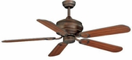 Vaxcel FN52303WP Zephyr Weathered Patina Finish 52  Wide Home Ceiling Fan